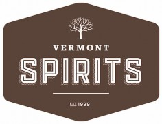 VermontSpirits Core Revers Color Brown and White Logo